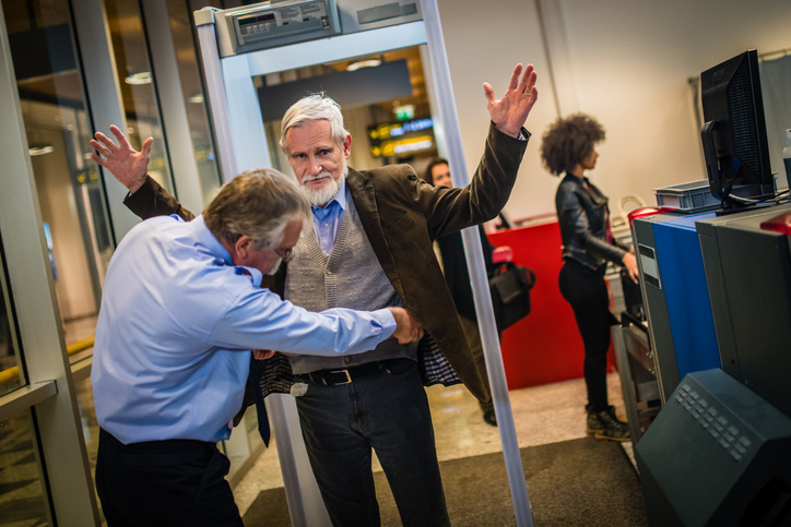 Video Helps Passengers With Joint Replacements Clear Security